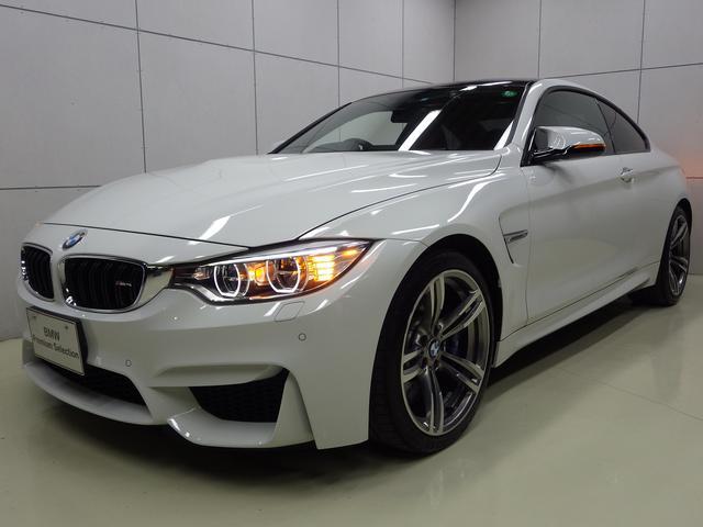 BMW M4クーペ サキールオレンジレザーシート 正規認定中古車