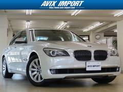 BMW740i コンフォートP プラスP 黒革 SR 禁煙1オナ