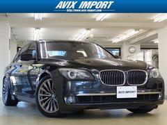 BMW750i コンフォートP茶革SR HUD 鍛造19インチAW