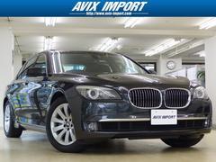 BMW740i コンフォートプラスPKG 黒革 SR PDC 禁煙