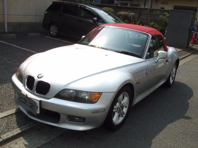 BMW 2.0 黒本革 新品幌ワイン色交換 ETC 記録簿8枚