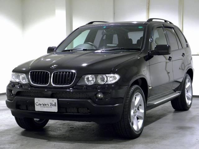 BMW X5 3.0iスポーツPkg HDDナビTVBカメ 黒革 ...