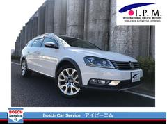 VW パサートオールトラック2.0TSI 4MOTION 黒フルレザーシート ナビ TV