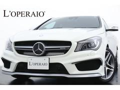 メルセデスAMGCLA45 4マチック シューティングブレーク 新車保証継承