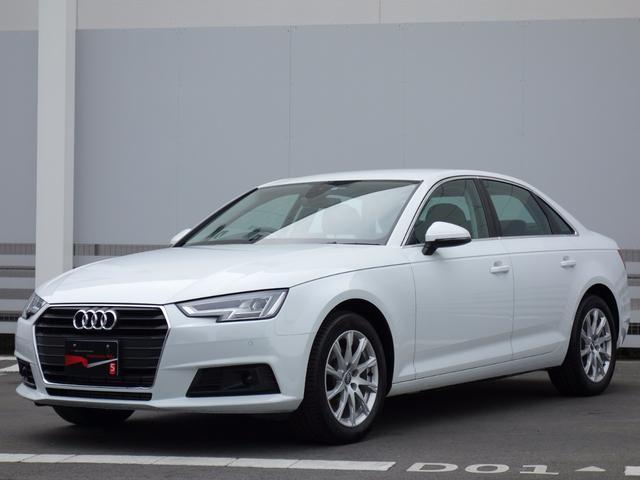 アウディ A4 2.0T ワンオーナー LED 17AW Audi...