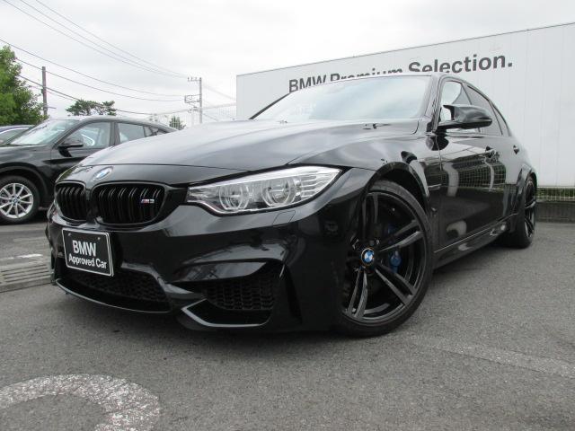 BMW M3セダン 赤レザー Mサス