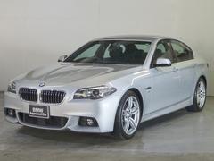 BMW523d Mスポーツ サンルーフ レザー 19インチ