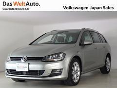 VW ゴルフヴァリアントTSIハイライン ワンオーナー 純正ナビ 認定中古車