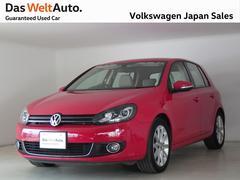 VW ゴルフTSIハイライン ベージュレザー ナビ DWA認定中古車
