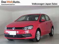 VW ポロTSIトレンドライン ワンオーナー 認定中古車
