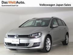 VW ゴルフヴァリアントTSIハイライン ワンオーナーナビ ETC2.0 認定中古車