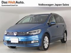 VW ゴルフトゥーランハイライン 元デモカー 本年登録 純正ナビ 認定中古車