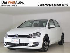 VW ゴルフハイライン 茶革シート DCC  専用17アルミ 認定中古車