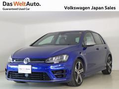 VW ゴルフR2LターボAWD ワンオーナー 黒革 純正ナビ 認定中古車