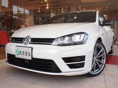 VW ゴルフRカーボンスタイル 純正19インチ 本革 純正ナビTV Bカメ