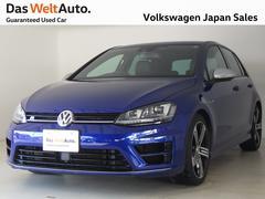 VW ゴルフR当社試乗車 純正ナビ DCC レザーシート DWA認定中古車