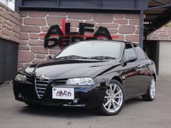 アルファ156TI 2.5 V6 24V 1オーナー ファブリルチタン