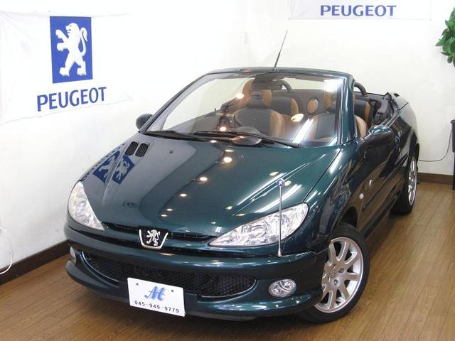 peugeot 206 cc cayman green. Black Bedroom Furniture Sets. Home Design Ideas