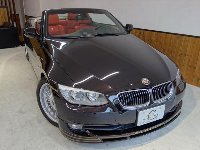 BMWアルピナ S ビターボ カブリオ HDDナビ 左ハンドル ディーラー車