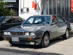 マセラティ 430正規D車 ブルーレザー&ウッドインテリア