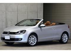 VW ゴルフカブリオレベースグレード ブラウンレザー 2012yモデル
