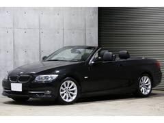 BMW335iカブリオレ DCT 黒革 純正HDDナビ 後期モデル