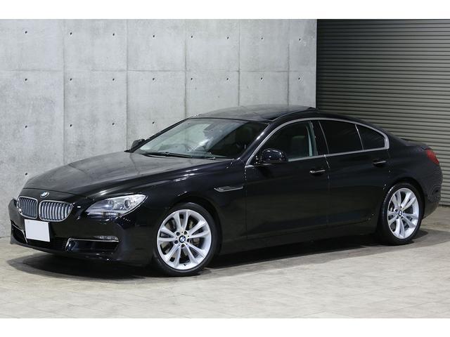 BMW 650iグランクーペ サンルーフ 黒革 純正19AW 地デジ