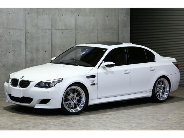BMW M5 フルレザーインテリア 車高調 BBS20AW 赤革