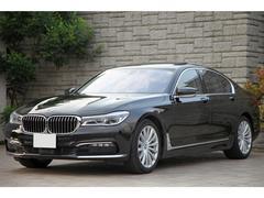 BMW740i プラスPKG SR OP19インチ 黒革