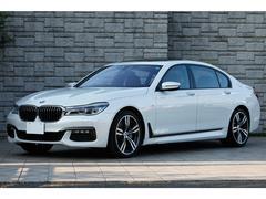 BMW750Li Mスポーツ リアシートエンターテインメント