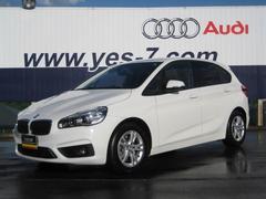 BMW218iアクティブツアラー 禁煙車 HDDナビ 新車保証付
