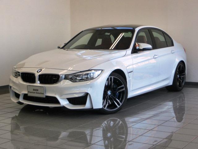 BMW M3 M3 赤レザーシート LEDヘッドライト (検31.6)