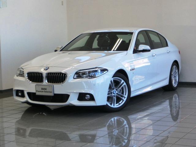 BMW 5シリーズ 523d Mスポーツ ブラックレザーシート (...