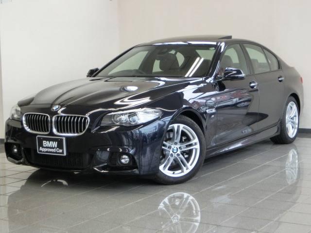 BMW 5シリーズ 523d Mスポーツ ブラウンレザーシート (...