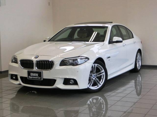 BMW 5シリーズ 528i Mスポーツ ベージュレザーシート (...