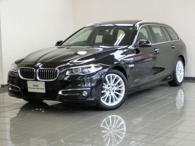 BMW 5シリーズ 523dツーリング ラグジュアリー ガラスサン...