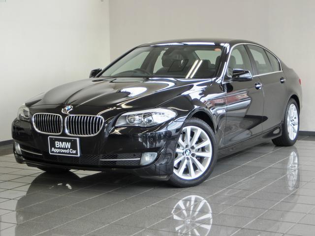 BMW 5シリーズ 528i ブラックダコタレザーシート 地デジチ...