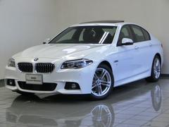 BMW523i Mスポーツ ブラックレザーシート ガラスサンルーフ