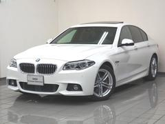 BMW528i Mスポーツ ブラックレザーシート 地デジチューナー