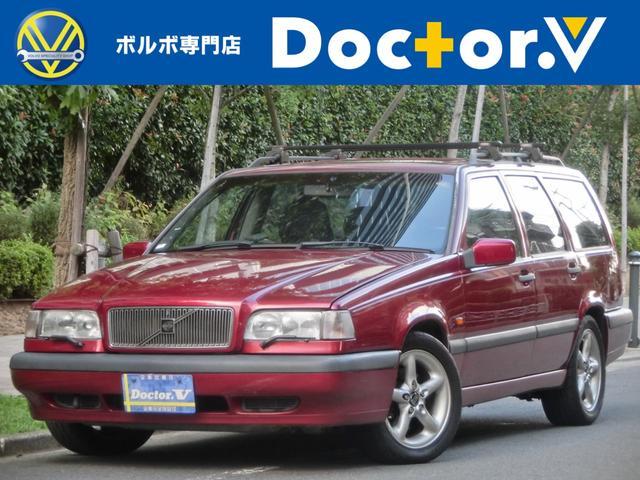 ボルボ 850 2.5Tエステート 電動SR 黒革 クラシックPKG