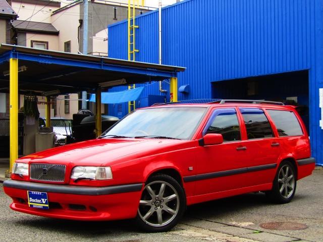 ボルボ 850ターボエステート 限定車R ボランズ17inchAW