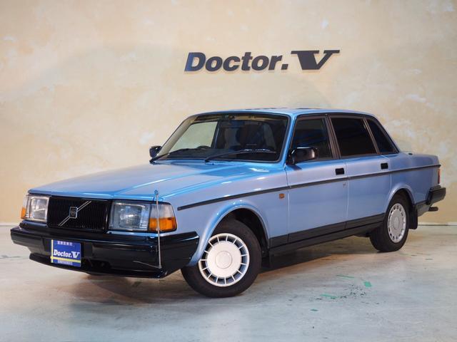 ボルボ 240セダン ブルーモケットシート