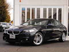 BMW523i Mスポーツ サンルーフ ナビRカメラ ウッドP