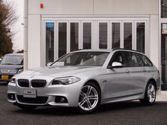 BMW523iツーリング Mスポーツ サンルーフ 革 ACC ナビ