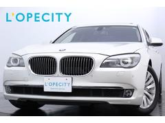 BMW750Li SR ベンチレータ シートH リアコンフォート