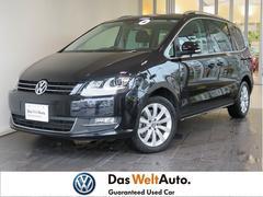 VW シャランTSI ハイライン 社外SDナビ フルセグ キセノン ETC