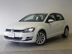 VW ゴルフ純正ナビ キセノン ACC 電動パーキング 認定中古車保証