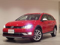 VW ゴルフオールトラックTSI 4モーション キセノン バックカメラ 純正ナビ