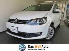 VW シャラン純正ナビ キセノン ワンオーナー 新車保証継承
