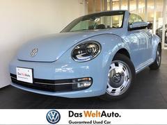 VW ザ・ビートル・カブリオレワンオーナー ブラックレザー シートヒーター ワンオーナー